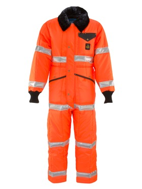 HiVis Iron-Tuff® Coveralls 0344L2 Orange