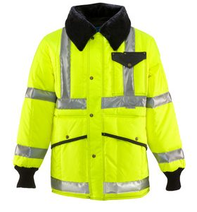 HiVis Iron Tuff Jackoat Reflective Tape 0342L2