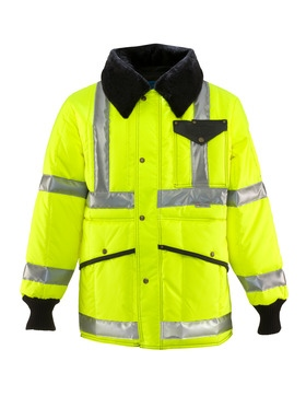 HiVis Iron-Tuff Jackoat with Reflective Tape