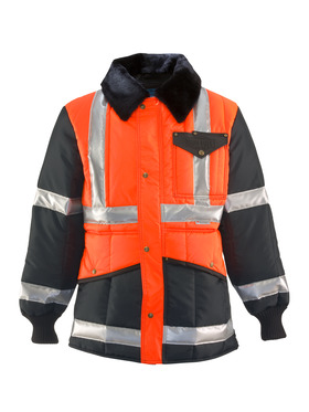 HiVis Iron Tuff Two Tone Jackoat Reflective Tape 0342L3