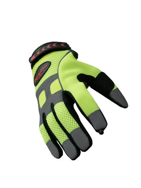 HiVis Super Grip Gloves
