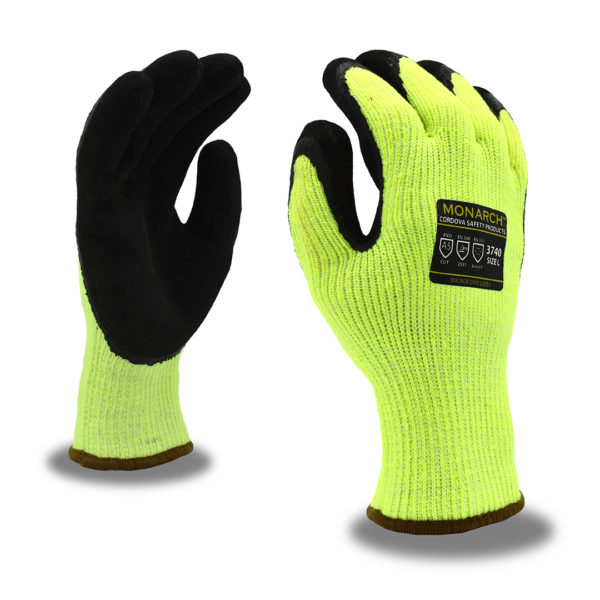 Monarch Sub Zero Latex Palm Gloves