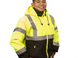High Visibility Clothing Display