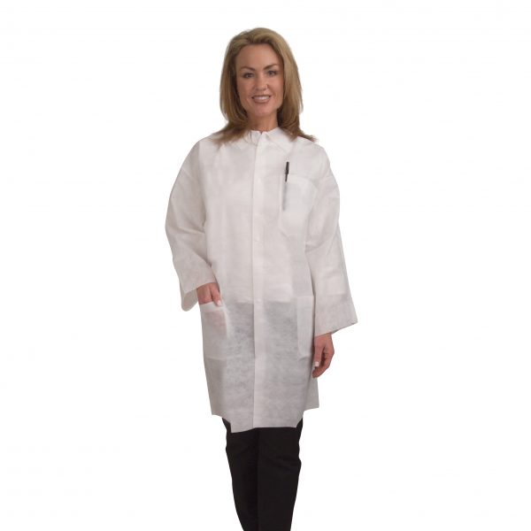Polypropylene Lab Coat