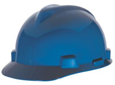 MSA V-Gard Blue Hard Hats