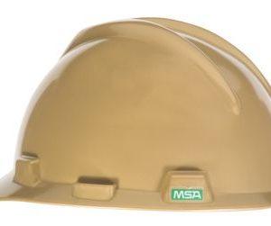 MSA V GARD Gold Hard Hats Cap