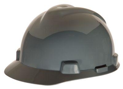 MSA V-Gard Gray Hard Hats