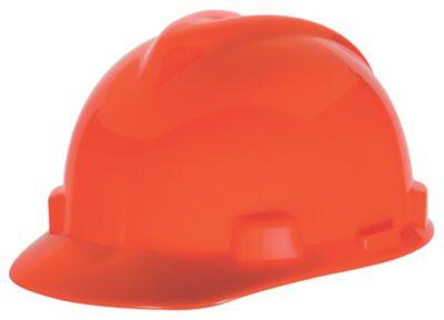 MSA V-Gard Orange Hard Hats