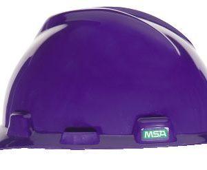 MSA V GARD Purple Hard Hats