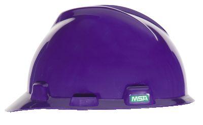MSA V-Gard Purple Hard Hats