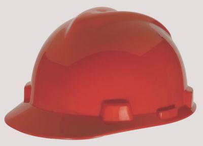 MSA V-Gard Red Hard Hats
