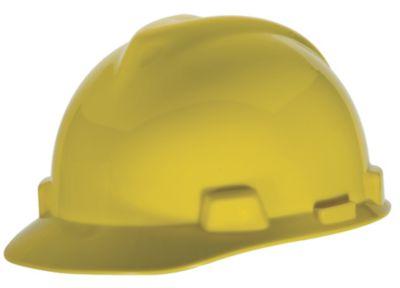 MSA V-Gard Yellow Hard Hats