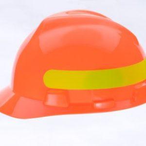 HiVis MSA V Gard Orange High Visibility