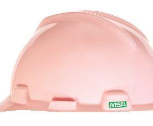 MSA V Gard Pink Hard Hats