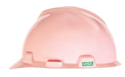 MSA V-Gard Pink Hard Hats