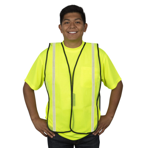 Safety Vest Non Rated V111W