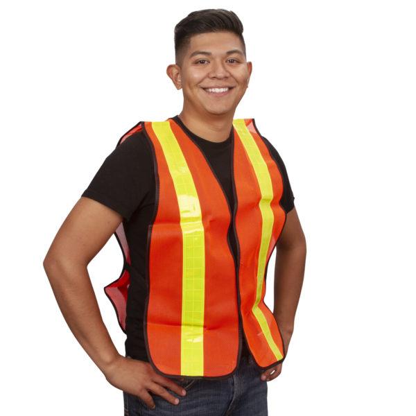 Safety Vests V120L Orange