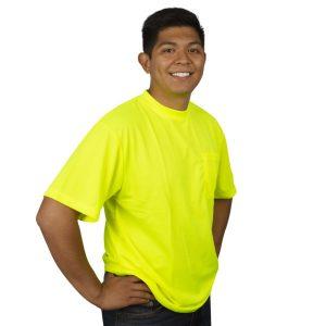 HiVis Lime-t-shirt V131