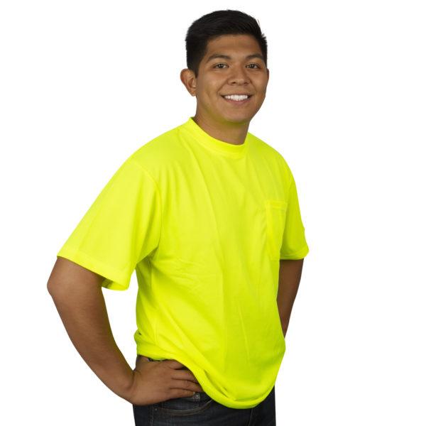 HiVis Lime-t-shirt