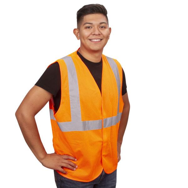 Safety Vests V210P Orange