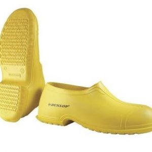 Yellow Dunlop Overshoes Featured