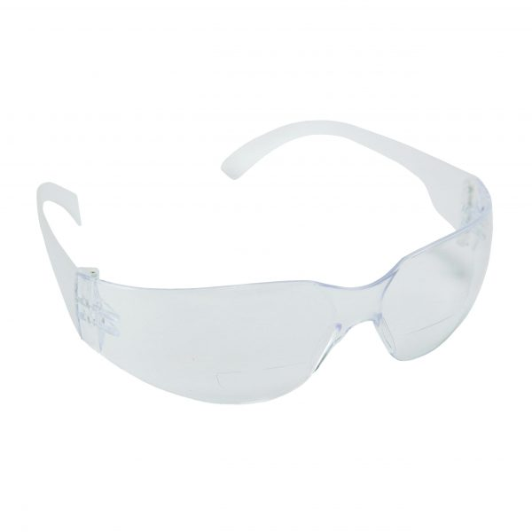 Bulldog Readers Safety Glasses Gray Lens