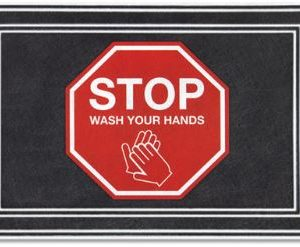 Stop and Wash Your Hands Mats