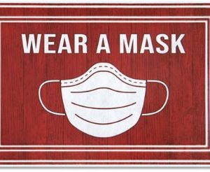 Wear a Mask Mats Message