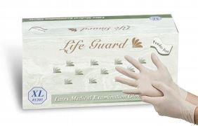 Sentry Latex Medical Gloves Model 1200