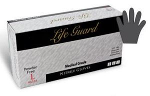 Life Guard Nitrile Powder-Free Medical Gloves 6330