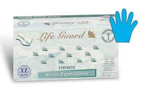 Life Guard Nitrile Powder-Free Medical Gloves 6300