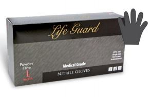 Life Guard Nitrile Powder-Free Medical Gloves 6340